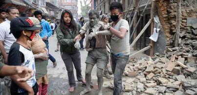 Más de 1.400 muertos en Nepal por un terremoto de 7,5