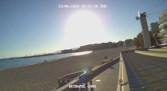 Nit de Sant Joan sin playas