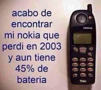 Ésto era un móvil