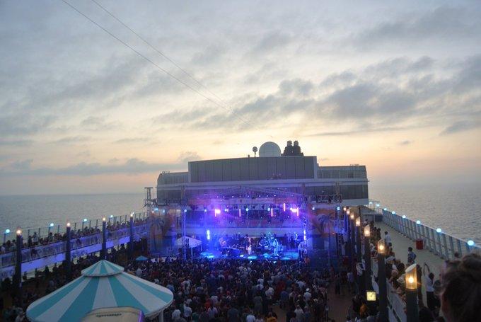 Atraca en Palma el crucero rockero de Bon Jovi