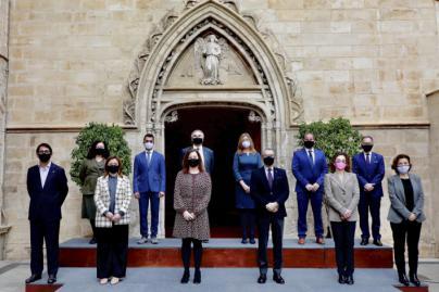 Garrido, Marí y Company toman posesión como nuevos consellers del Govern