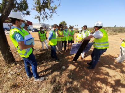 Comienzan las obras del nuevo acceso al polígono de Marratxí desde la autopista de Inca