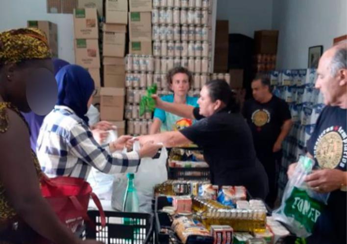 La Orden del Temple y la Guardia Civil de Calvià ayudan a familias necesitadas