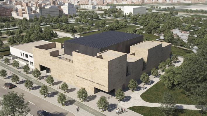 Aprobada la licencia para la construcción de la nueva sede de la Simfònica
