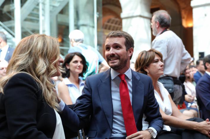 Casado acusa a Sánchez de provocar un 'efecto llamada' con su 'mala gestión' del Open Arms