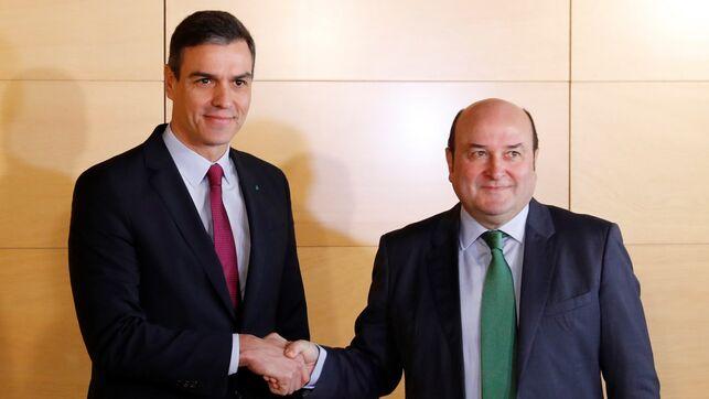 El PNV acepta apoyar la investidura de Pedro Sánchez