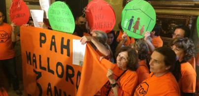 PAH Mallorca exige a Cort acciones que garanticen el derecho a una vivienda