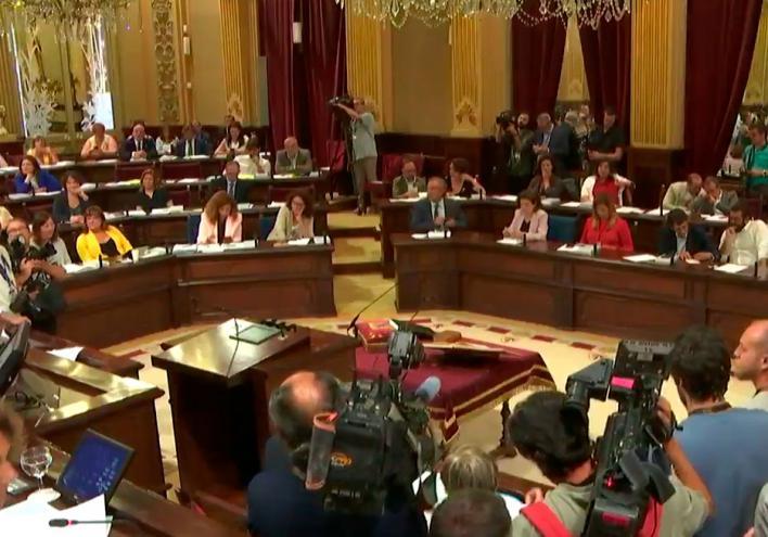 La ronda de consultas entre Thomàs y los grupos parlamentarios será hoy