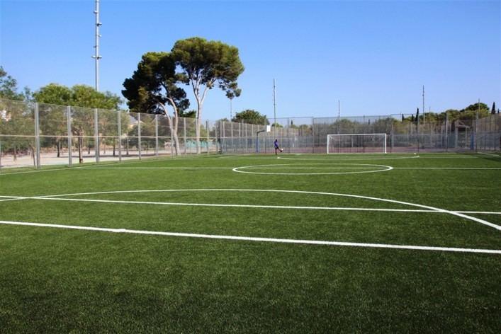 Reabiertas las instalaciones deportivas del parque de sa Riera tras un mes cerradas por obras