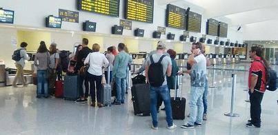 El Aeropuerto cierra octubre con un crecimiento en pasajeros del 16,7%