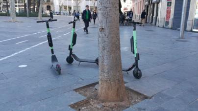 Un peatón agrede al conductor de un patinete eléctrico en Ciudad Jardín