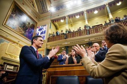 Pedro Sánchez, investido presidente del Gobierno