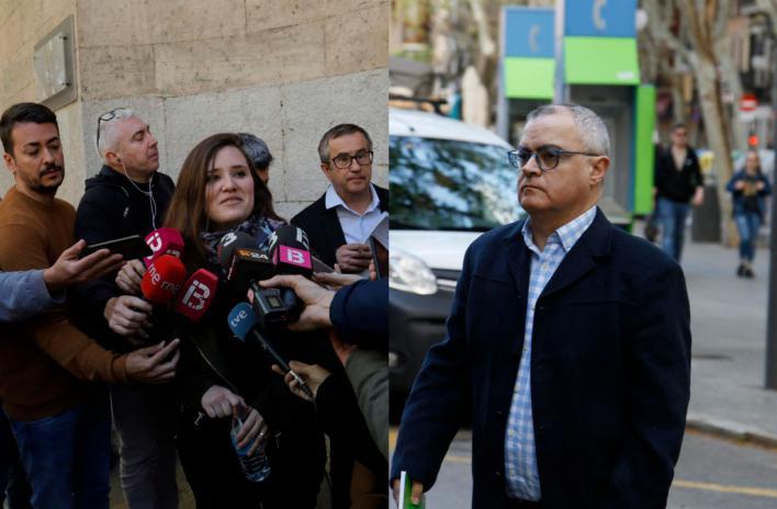 Los periodistas declaran que la Policía les forzó a entregar sus móviles