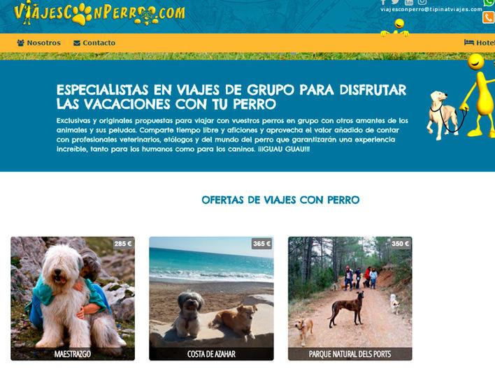 Nace una web de viajes para los que quieren ir con sus mascotas