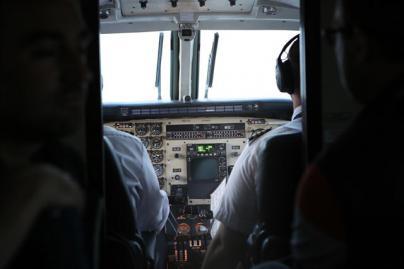 Ya se pilotan aviones con la mente sin licencia de vuelo