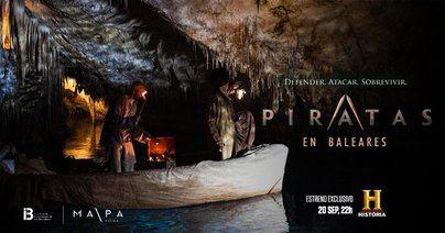 Canal Historia estrena este lunes 'Piratas en Baleares'