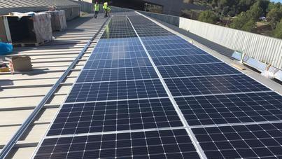 Calvià 2000 apuesta por reducir las emisiones de CO2 mediante plantas fotovoltaicas