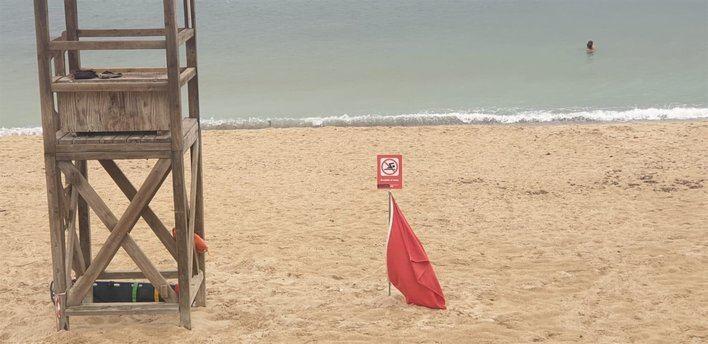 Nuevo cierre de las playas de Can Pere Antoni y Ciudad Jardín por vertidos fecales