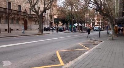 El comercio de Palma estalla: 'Los cierres de tráfico nos están matando'