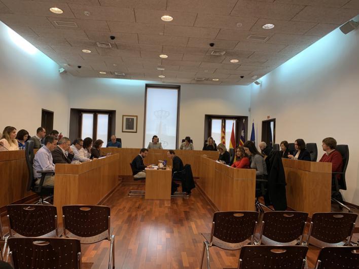 Pleno del Ajuntament d'Eivissa
