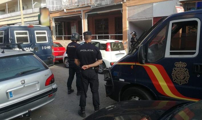 La Policía Nacional detiene a 7 personas este fin de semana en Palma