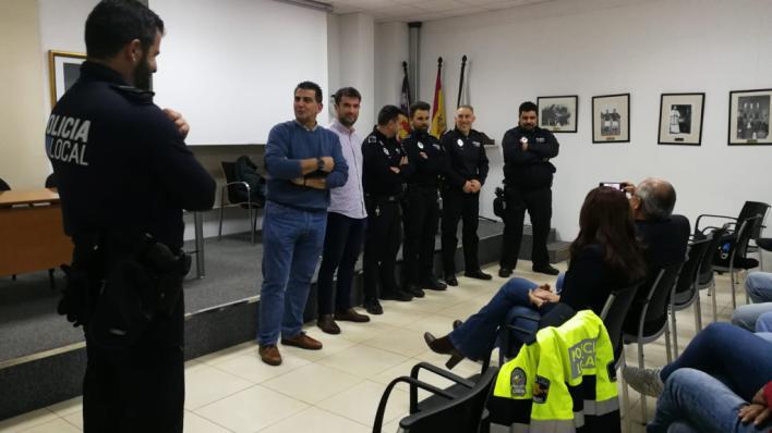 Llucmajor presenta a los policías de barrio de s'Arenal