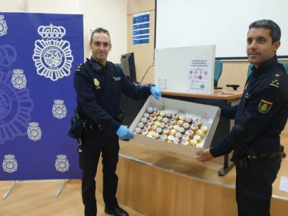 Dulces solidarios para agradecer el esfuerzo de sanitarios y policías