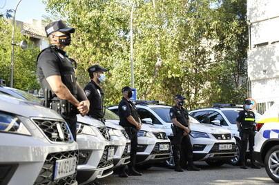 La Policía Local de Palma suma hoy 10 coches patrulla