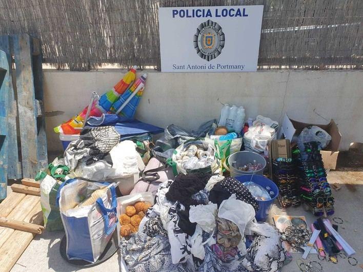 20 denuncias por venta ambulante en Sant Antoni