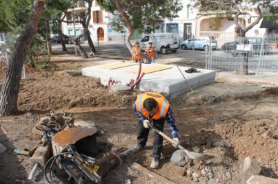Ports IB invierte más de 15.000 € en obras de mejora en Portocolom