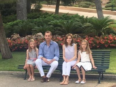 El Rey de nuevo en Palma por Pascua