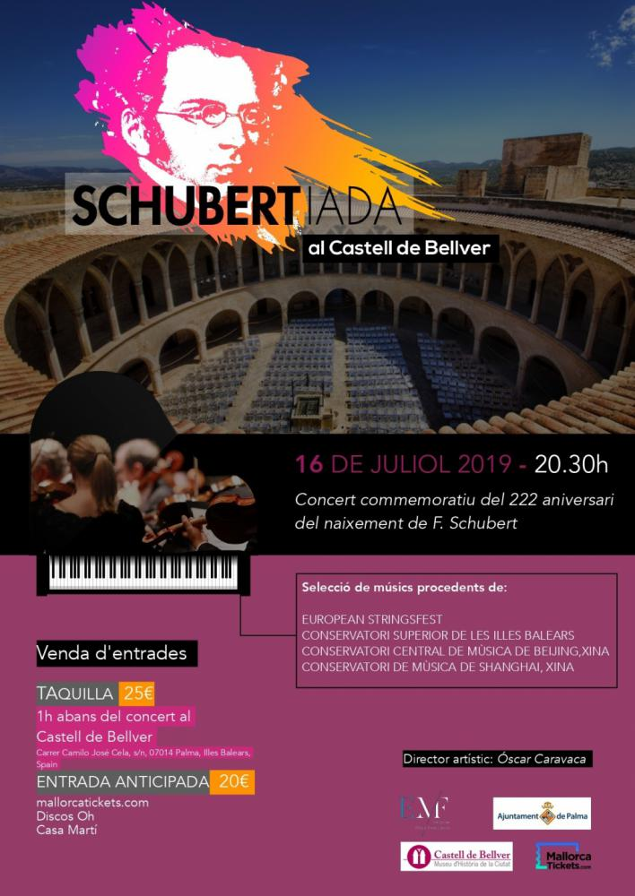 El European Music Foundation arranca este martes en el Castillo de Bellver