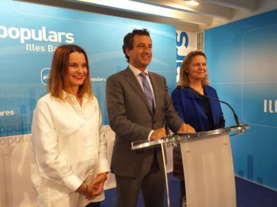 Marga Prohens será la candidata del PP al Congreso y María Salom al Senado