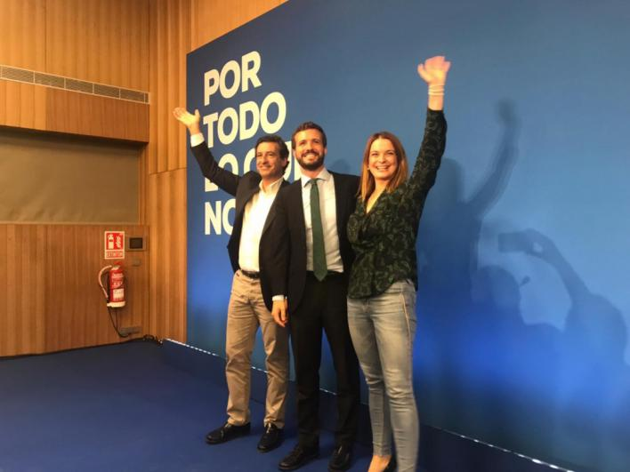 Casado promete en Palma una ley antiokupas con penas de cárcel de uno a tres años