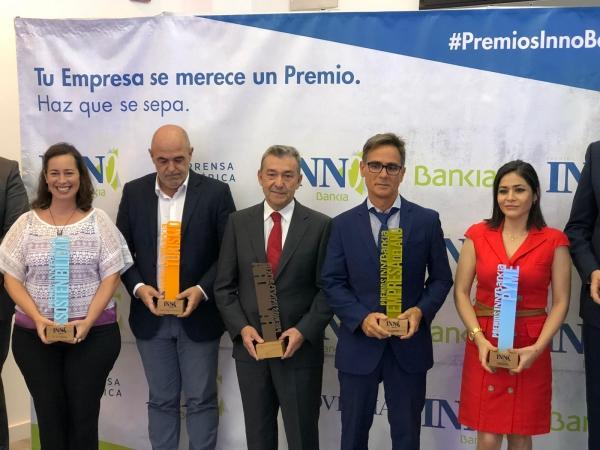 Trasmediterránea, premio a la Trayectoria Profesional InnoBankia 2019