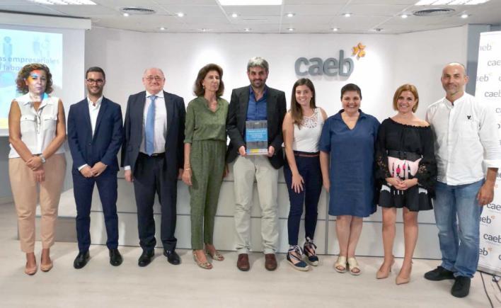 CAEB premia a Melchor Mascaró y Vopsa por sus prácticas en seguridad laboral
