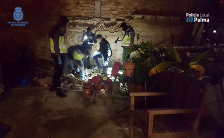 Desmantelado un activo punto de venta de droga en Pere Garau