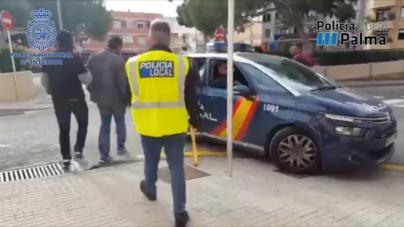 La Policía detecta conexiones entre grupos de tráfico de drogas y robos en Playa de Palma