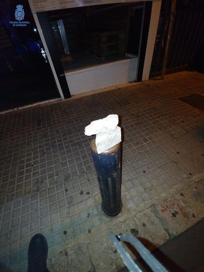 Intentan robar en un local de Son Armandans rompiendo el cristal con un adoquín
