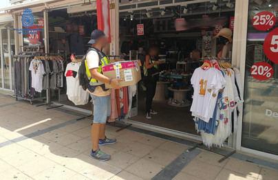 Seis detenidos por falsificar ropa y accesorios que en el mercado habrían alcanzado medio millón