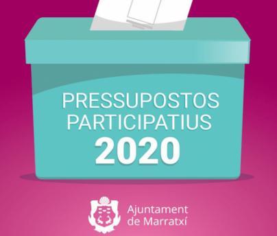 Los ciudadanos de Marratxí pueden votar 16 propuestas para los presupuestos de 2020