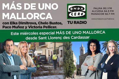 'Más de uno Mallorca' emite una edición especial desde Sant Llorenç des Cardassar