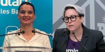 Rifirrafe entre Marga Prohens y Sonia Vivas en Twitter a cuenta de la violencia machista
