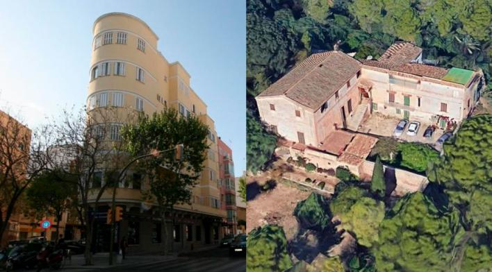 El nuevo catálogo de Patrimonio incluye la plaza de las columnas o Casas de la Bonanova