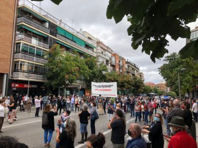 37 áreas de Madrid estrenan entre protestas restricciones de movilidad como las de Palma