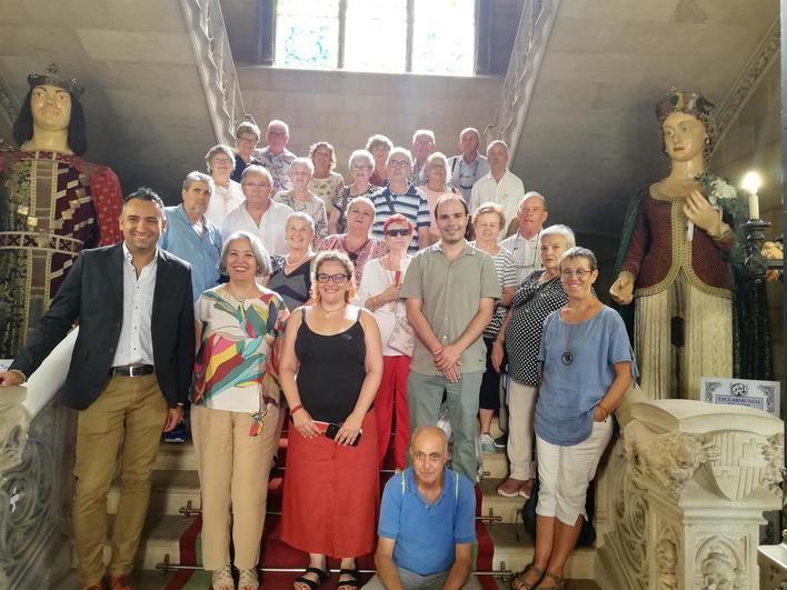 Arca organiza un proyecto para acercar el patrimonio a las personas mayores