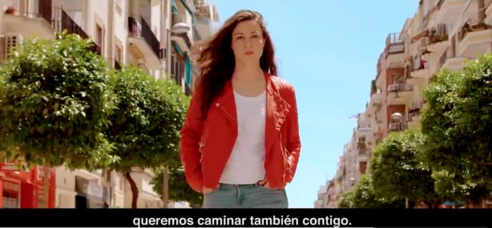 'Siempre hacia adelante', el eslogan del PSOE para el 26M