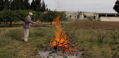 Suspendidas todas las quemas por las altas temperaturas