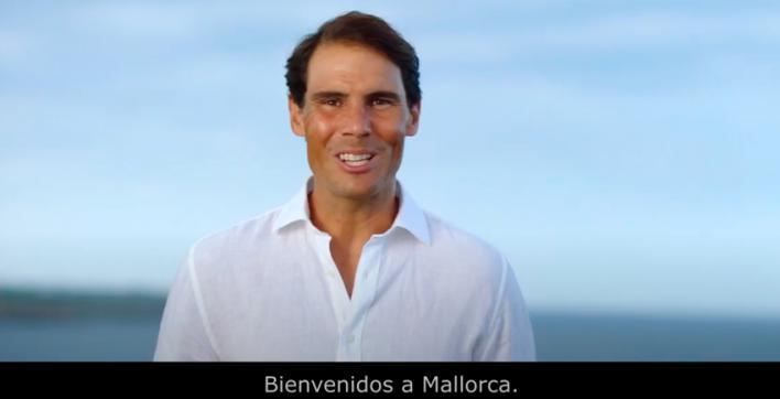 Rafa Nadal protagoniza el spot estrella del Consell de Mallorca para captar turistas españoles
