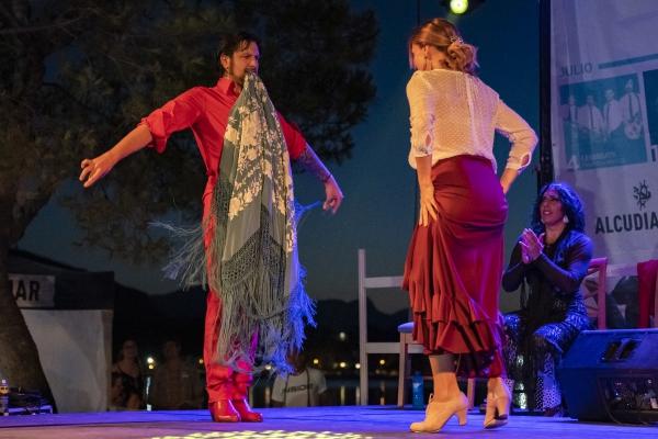Rafael Amargo llena 'Les nits d'estiu d'Alcudiamar'